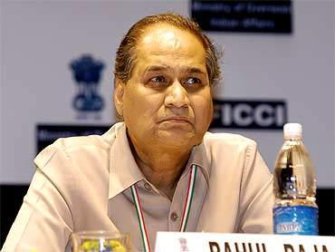 Bajaj chairman Rahul Bajaj.