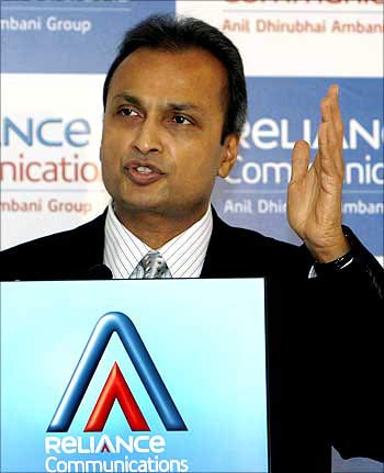 Reliance Communications chairman Anil Ambani
