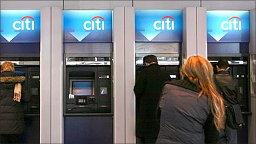 Citibank ATMs.
