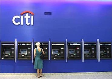 Citibank ATM.