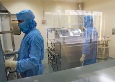 The Bharat Biotech lab.