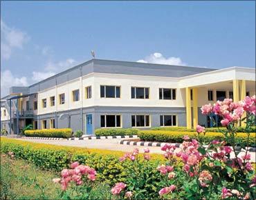 Bharat Biotech campus at Genome Valley, Hyderabad.