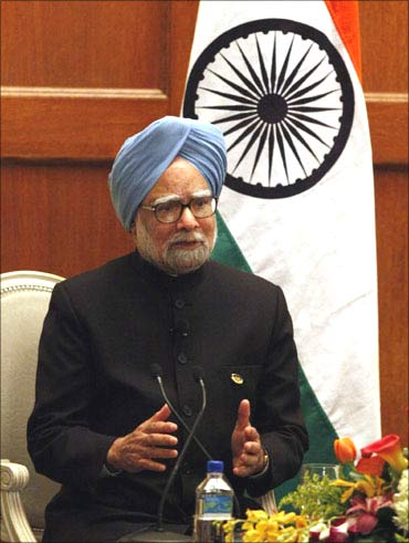 Prime Minister Manmohan Singh gave away the awards.