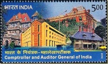 A postal stamp representing CAG.