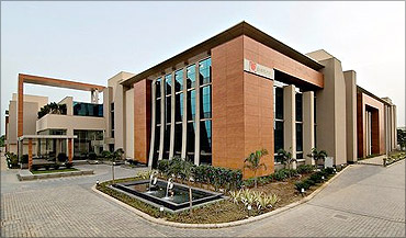 Patni office.
