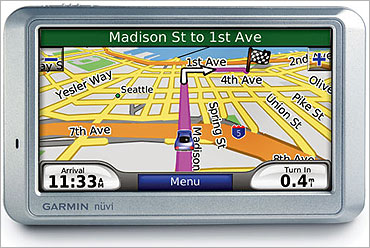 Garmin's navigation device.