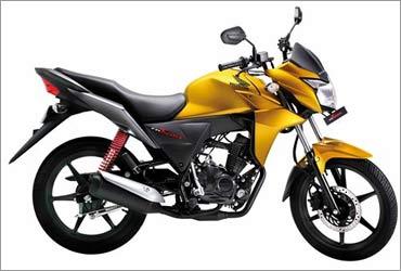 Honda CB Twister.