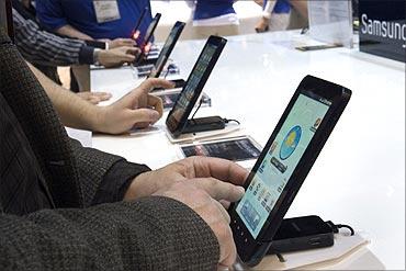 Samsung GalaxyTab.