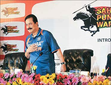 Subrata Roy, Sahara Group chief.