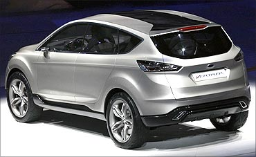 The Ford Vertrek concept is unveiled at the North American International Auto show in Detroit.