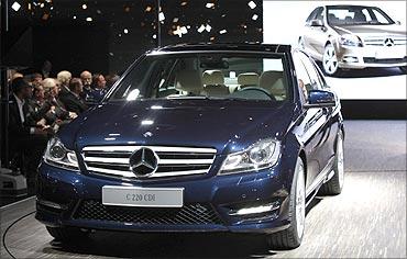 Mercedes-Benz C220.