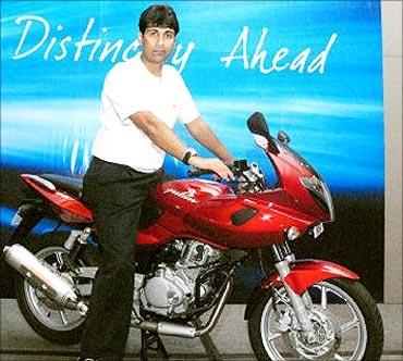 Rajiv Bajaj, MD, Bajaj Auto.