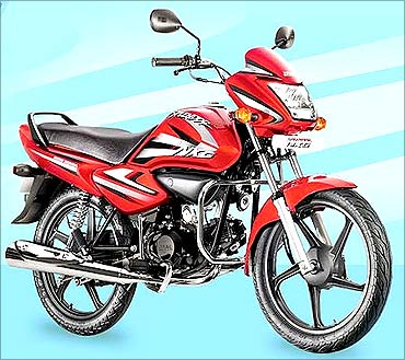 Hero Honda Splendor.