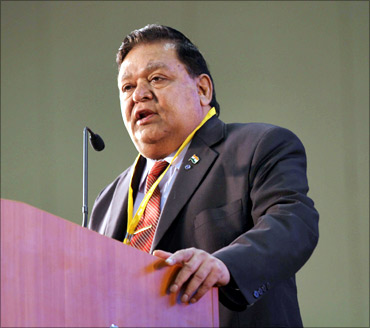 A M Naik, Chairman, Larsen and Toubro.
