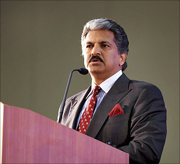 Anand Mahindra, Vice Chairman and MD, Mahindra and Mahindra.