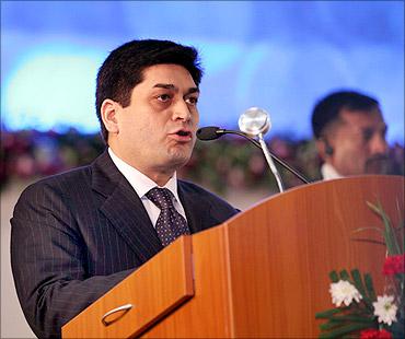 Prashant Ruia, Essar Group CEO.