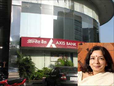 Inset: Shikha Sharma, CMD, Axis Bank.