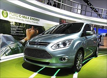 Ford C-max Energi hybrid car.