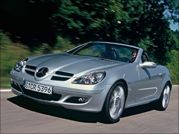 Mercedes SLK to debut soon.