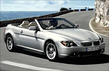 BMW 6 Series Convertible.