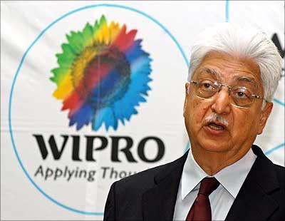 Wipro chairman Azim Premji.