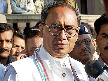 Congress general secretary Digvijay Singh.