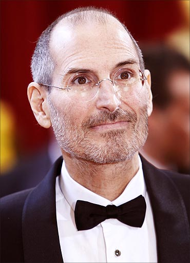 Steve Jobs at the 82nd Academy Awards in Hollywood, March 7, 2010.