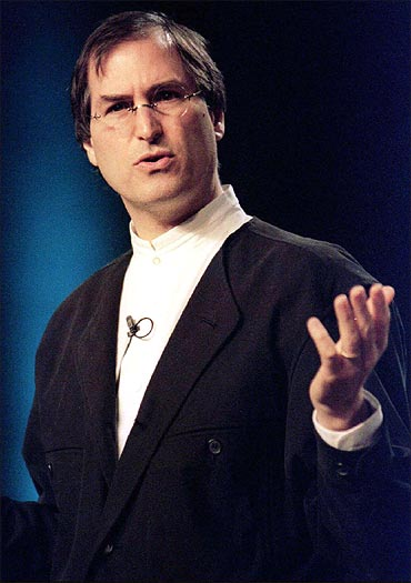 Steve Jobs in a January 1997 file photo.