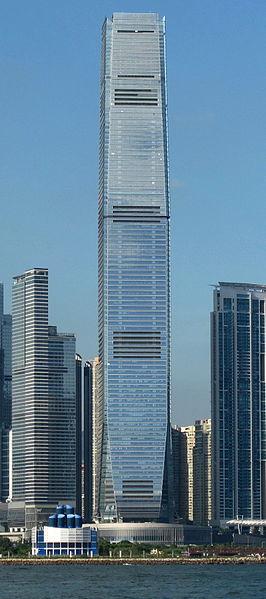 Hong Kong's International Commerce Centre.