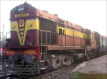 Railways' financial position weaker.