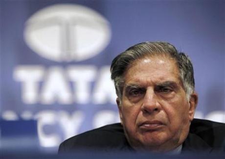 Ratan Tata, chairman ofTata Chemicals.