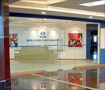 Tata Consultancy Services office.