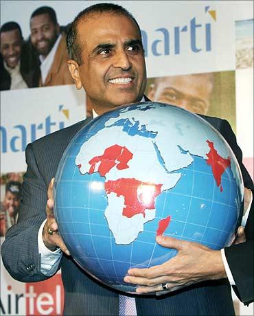 Sunil Bharti Mittal, chairman of Bharti Airtel.