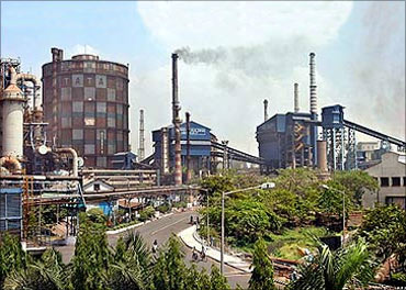 Tata Steel plant.