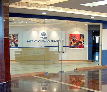 TCS office.