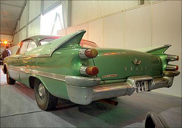 A vintage Dodge.
