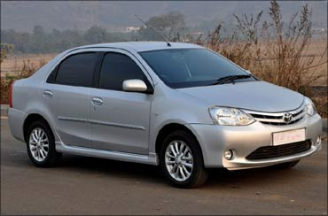 The Toyota Etios.