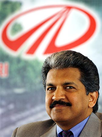 Mahindra Group vice chairman Anand Mahindra.