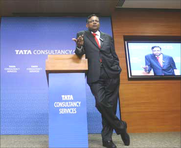 TCS CEO N Chandrasekharan.