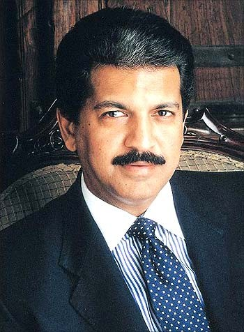 Anand Mahindra, managing director of the Mahindra Group
