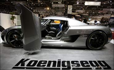 A new Koenigsegg Agera.