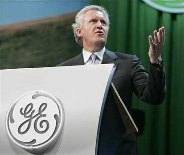 GE chairman of the board and chief executive Jeffrey Immelt.