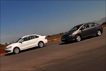 Volkswagen Vento vs Honda City AT! Which is better? - Rediff com