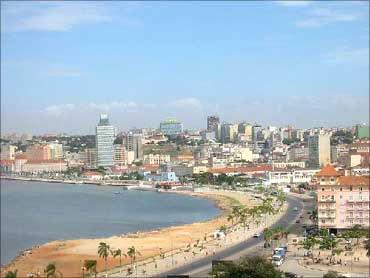 Angolan capital Luanda.