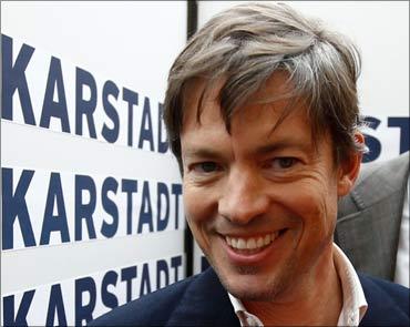 Billionaire Nicolas Berggruen.