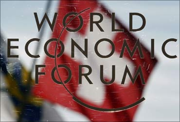 The WEF meet at Davos.