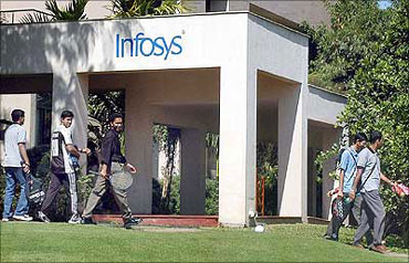 Infosys was named the third best managed firm in India.