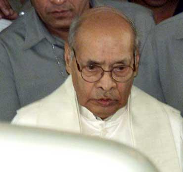 Former prime minister P V Narasimha Rao.
