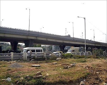 Hosur Road Elevated Expressway.