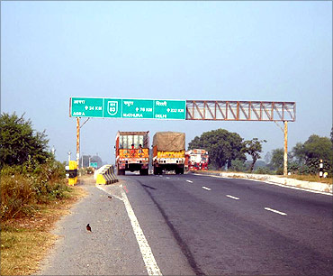 Ambala Chandigarh Expressway.